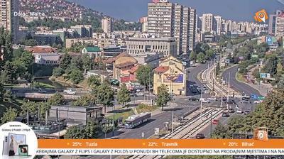 Thumbnail of Sarajevo webcam at 12:01, Jan 22