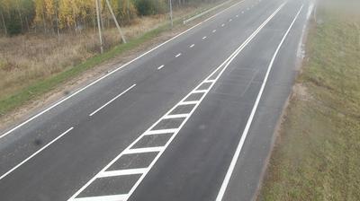 Tageslicht webcam ansicht von Chizhovshchina: Ostrovets R52 21.7 km