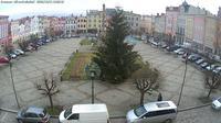 Broumov: Mírové náměstí - Overdag