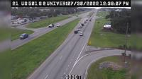 Conway: US  S @ University Blvd (Coastal Carolina) - El día
