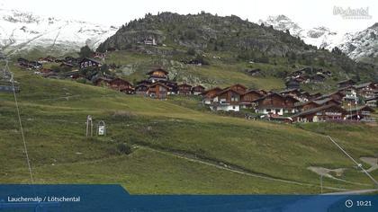 Wiler: Lauchernalp - Bergstation Luftseilbahn - Lauchernalp, Lauchernalp
