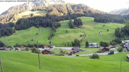 Jaun: Live Blick auf das Wander- und Skigebiet - mit dem Gastlosenexpress