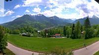 Berchtesgaden: Aussicht von der Klinik Sch�nsicht - Day time