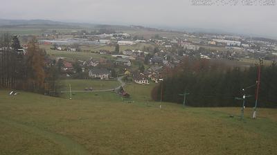Daylight webcam view from Dlouhoňovice: žbk