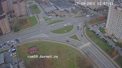 Долгопрудный Лихачёвское шоссе в сторону Москвы