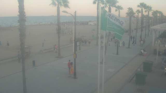 Webkamera Alboraya: Camping Playa − Clínica La Patacona