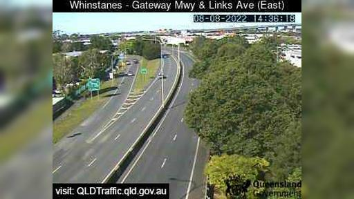 Webcam Eagle Farm: Whinstanes − Gateway Motorway and Link