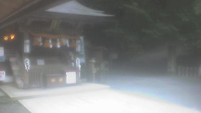Webkamera Kurama: 京都鞍馬 由岐神社