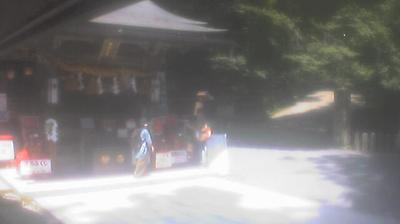 Daylight webcam view from Kurama: 京都鞍馬 由岐神社