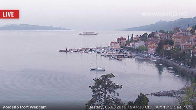 Webcam Volosko: Port