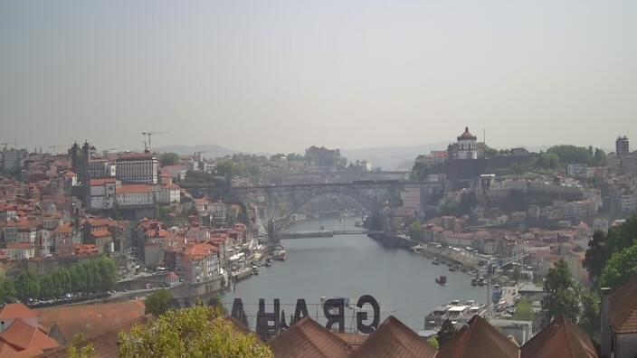Webcam Vila Nova de Gaia › North-East: Porto − Rio Douro