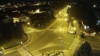 Rakovnik: WEBKAMERA - křižovatka Na Váze (ulice Čs.Legií)