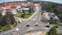 Rakovnik: WEBKAMERA - k?i?ovatka Na V�ze (ulice ?s.Legi�) - Overdag