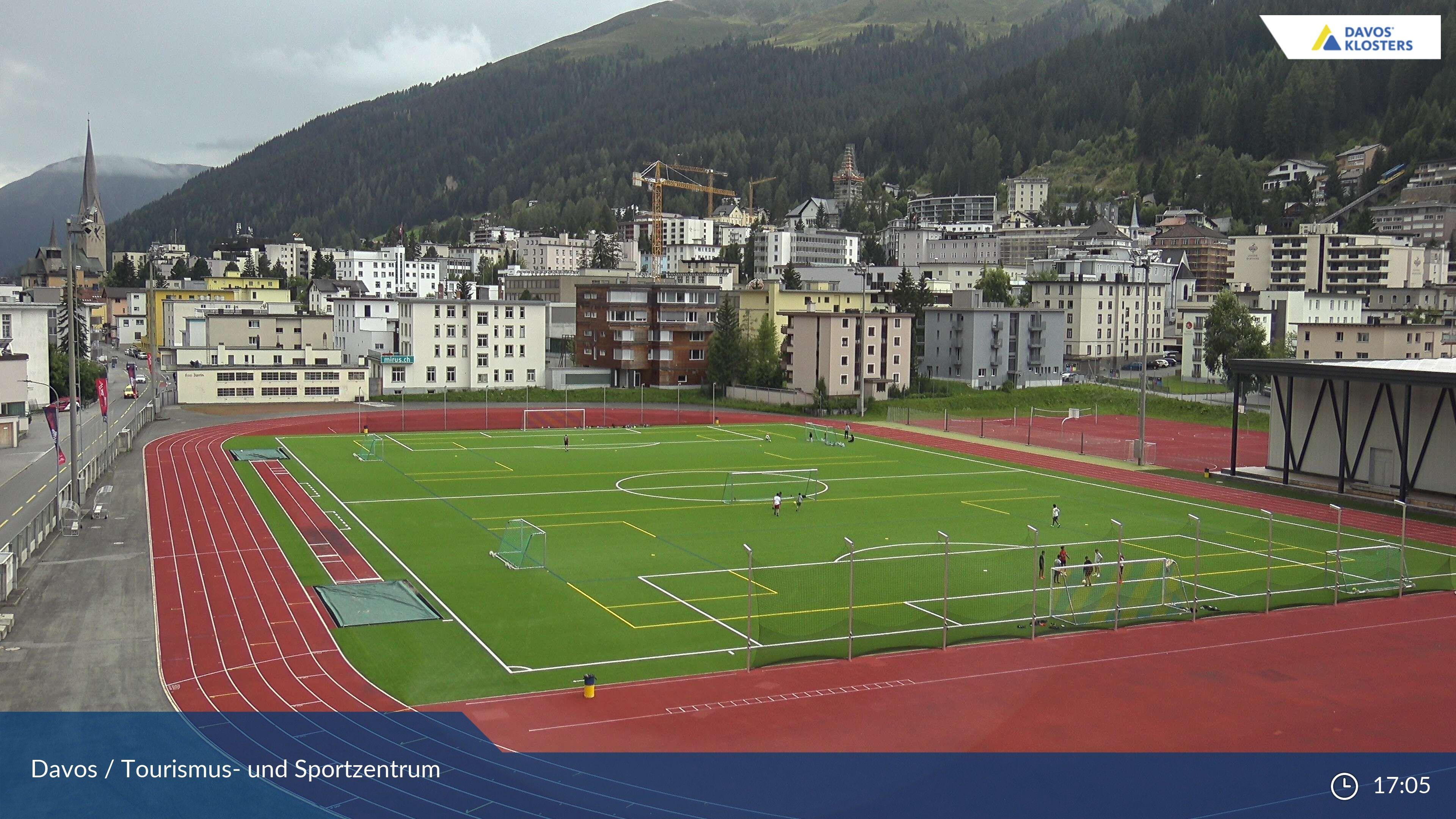 Davos: Platz - Tourismus- und Sportzentrum, Sportzentrum