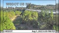 Spokane > North: US  at MP : Little - River () - Recent