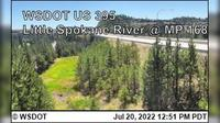 Spokane > North: US  at MP : Little - River () - Overdag