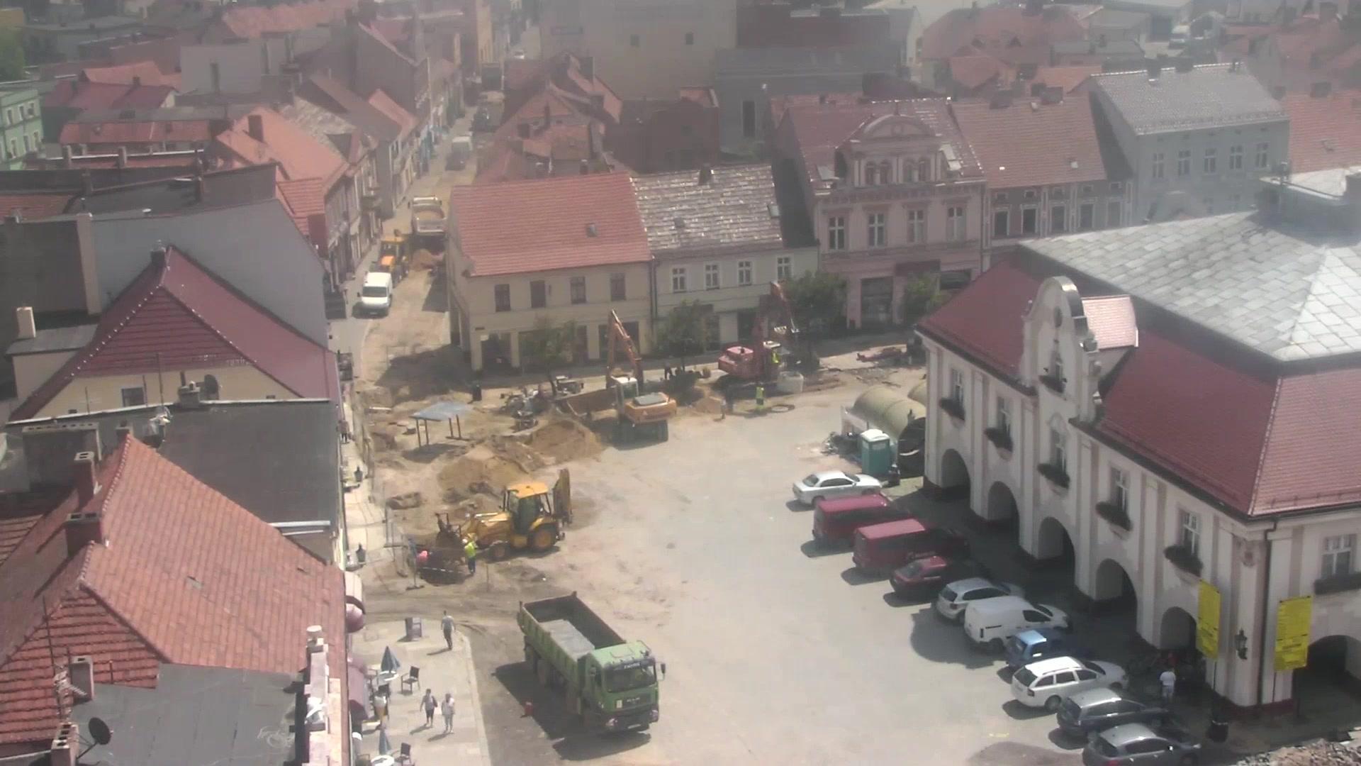 Webcam Jarocin: Ratusz