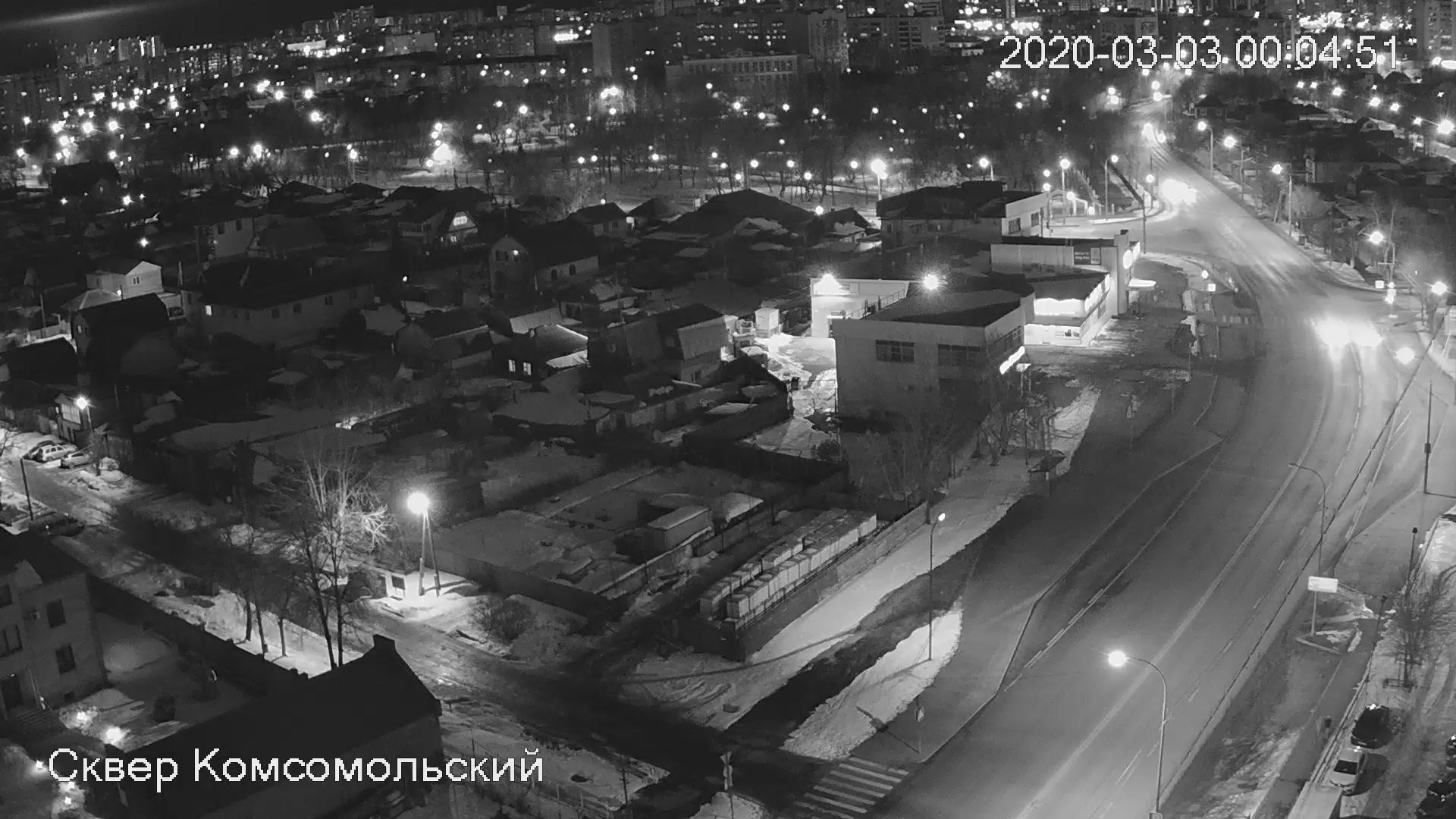 Webkamera Tyumen: Сквер Комсомольский