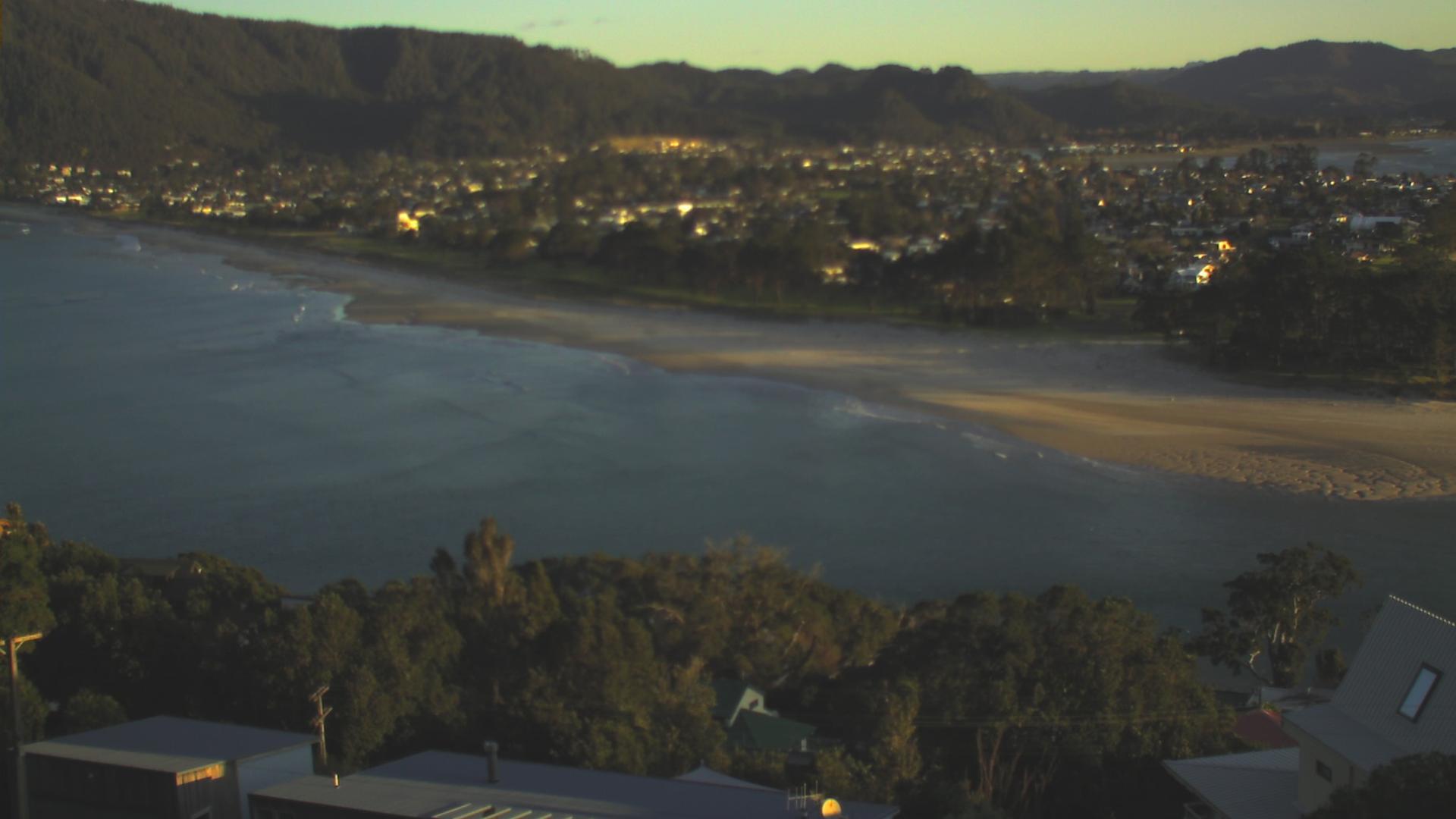 Webkamera Pauanui Beach