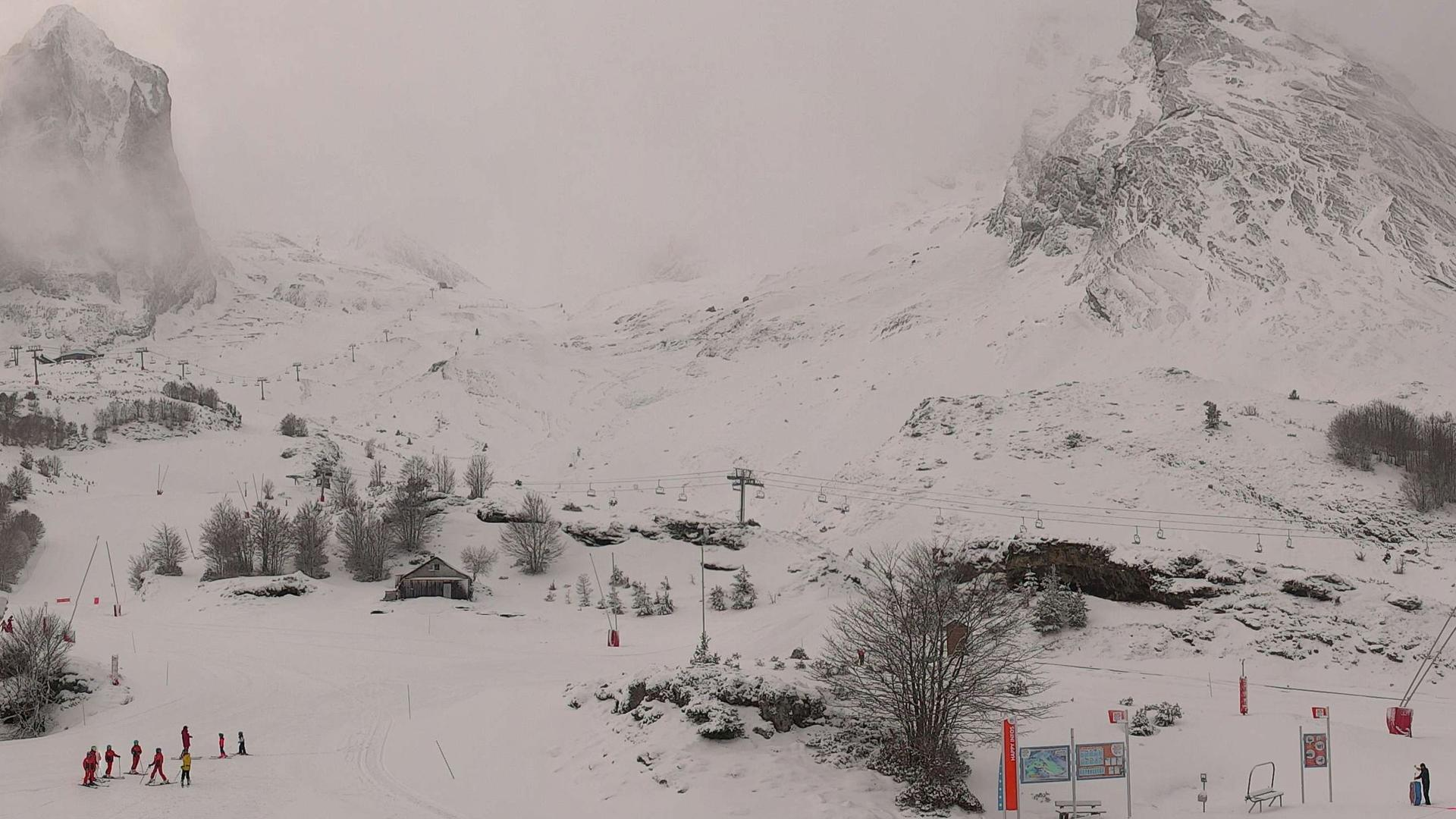 Webcam Gourette: Eaux-Bonnes − Panoramique HD Happy Place
