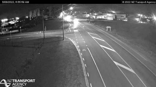 Webcam Bromley › South: SH74 Dyers − Metro, Christchurch