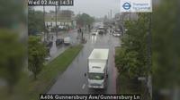 Acton: A Gunnersbury Ave/Gunnersbury Ln - Aktuell