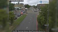 Acton: A Gunnersbury Ave/Gunnersbury Ln - Jour