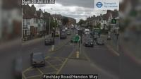 London: Finchley Road/Hendon Way - Recent