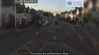 London: Finchley Road/Hendon Way - Actuelle