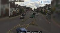 London: Finchley Road/Hendon Way - El día