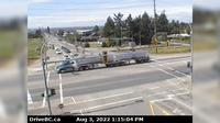 Matsqui 4 > West: , Hwy  at Harris Rd, looking west - Day time