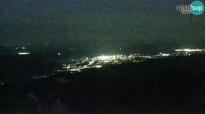 Ogulinec: Ogulin, Klek mountain - rotating panoramic HD webcam