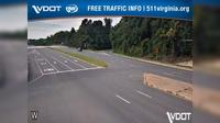 Marumsco Village: VA- - NB - I- HOV Ramp - Day time