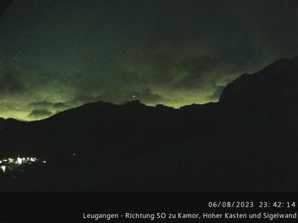 Schwende › Süd-Ost: Leugangen - Leugangen - Brülisau - Hoher Kasten Drehrestaurant Und Seilbahn - Alp Sigel