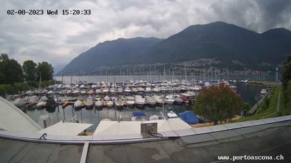 Ascona › Süd: Porto Patriziale Ascona - Gambarogno - Langensee
