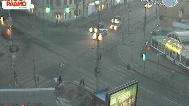 Webcam Затон: Саратов, пересечение ул. Московская и ул. Ч