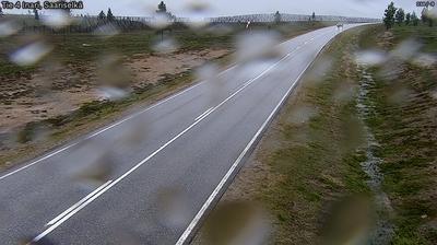Vue webcam de jour à partir de Inari: Tie 4 − Saariselkä, Kaunispää − Utsjoelle