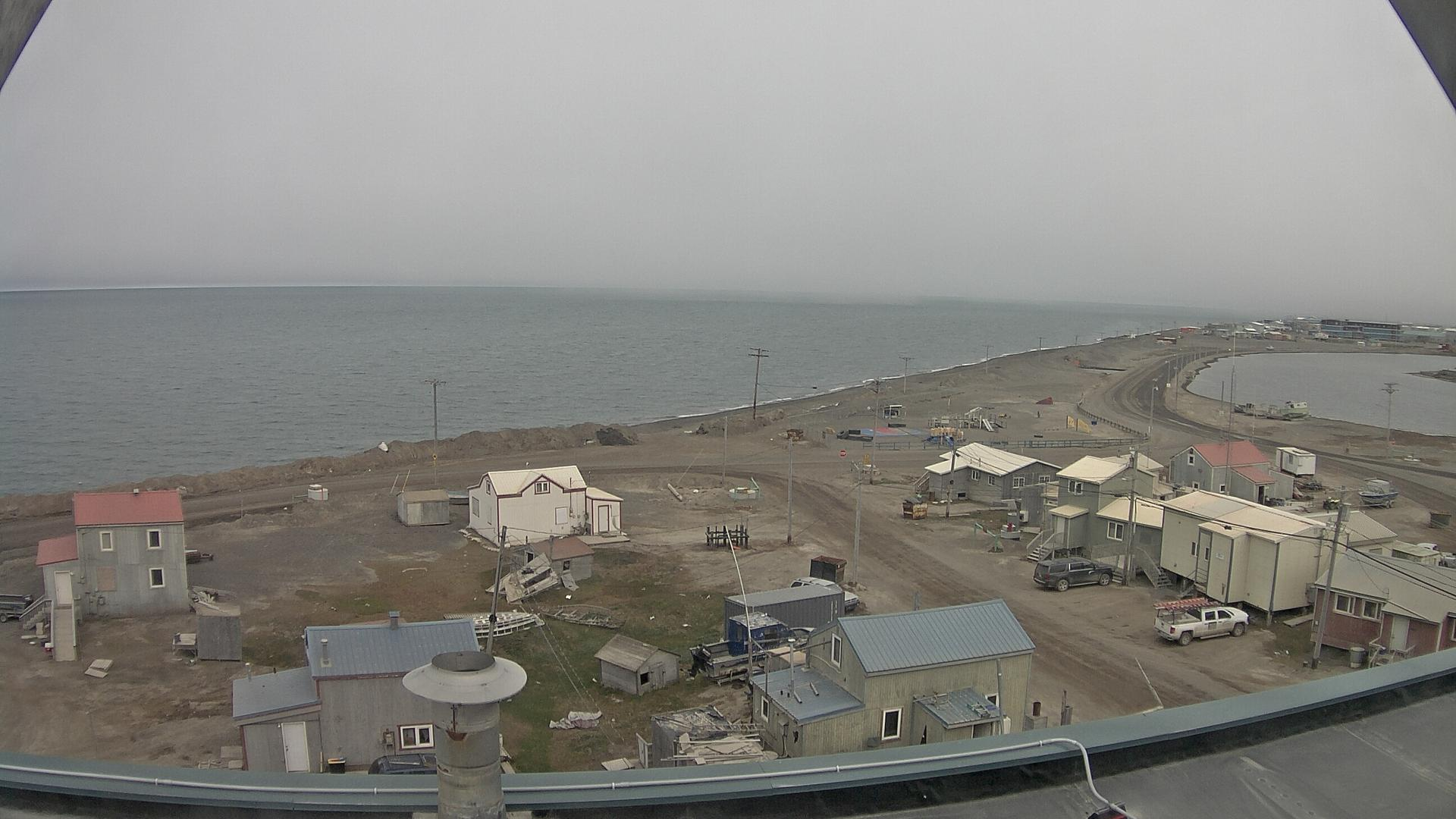 Webcam Barrow: Front ice sea (looking to NNW)