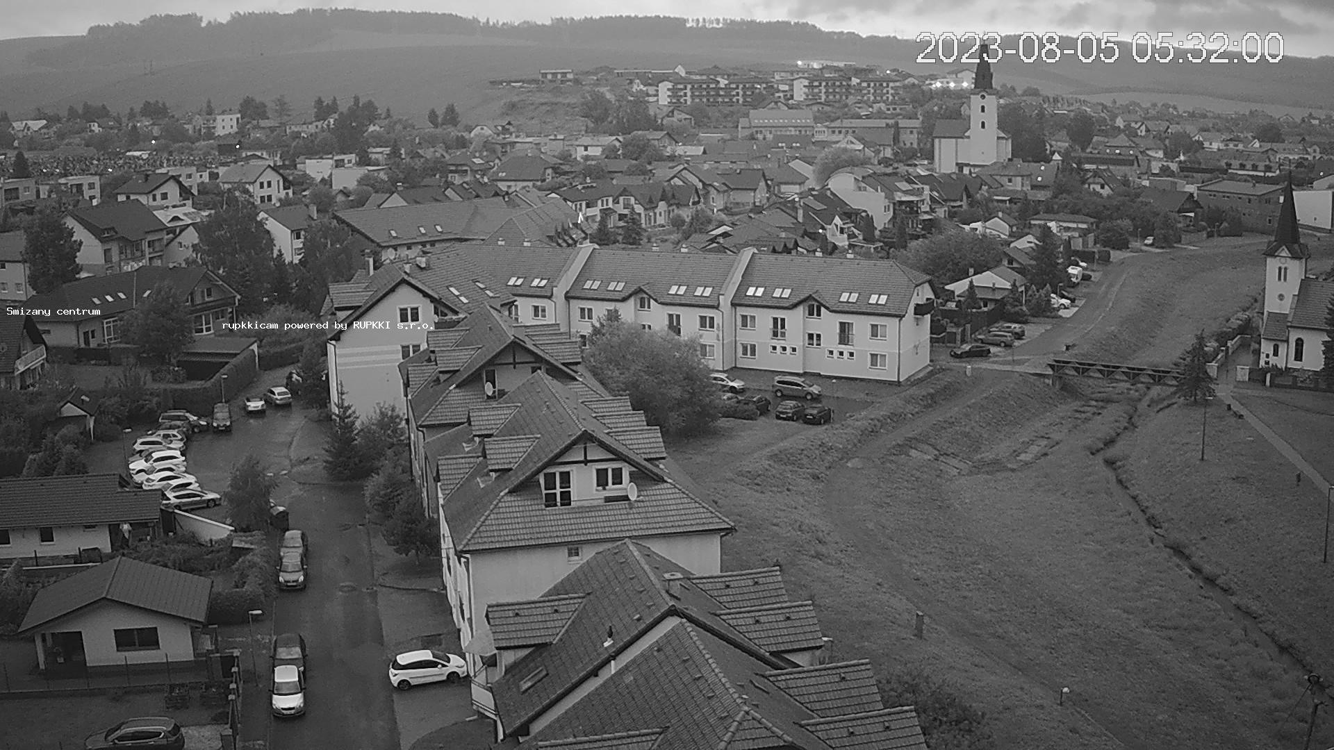 Webcam Spišská Nová Ves: Západ 1) − Smižany