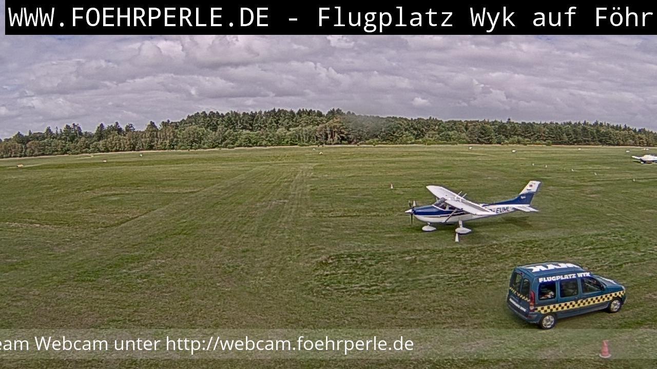 Webcam Wyk auf Föhr: Wyk Airport