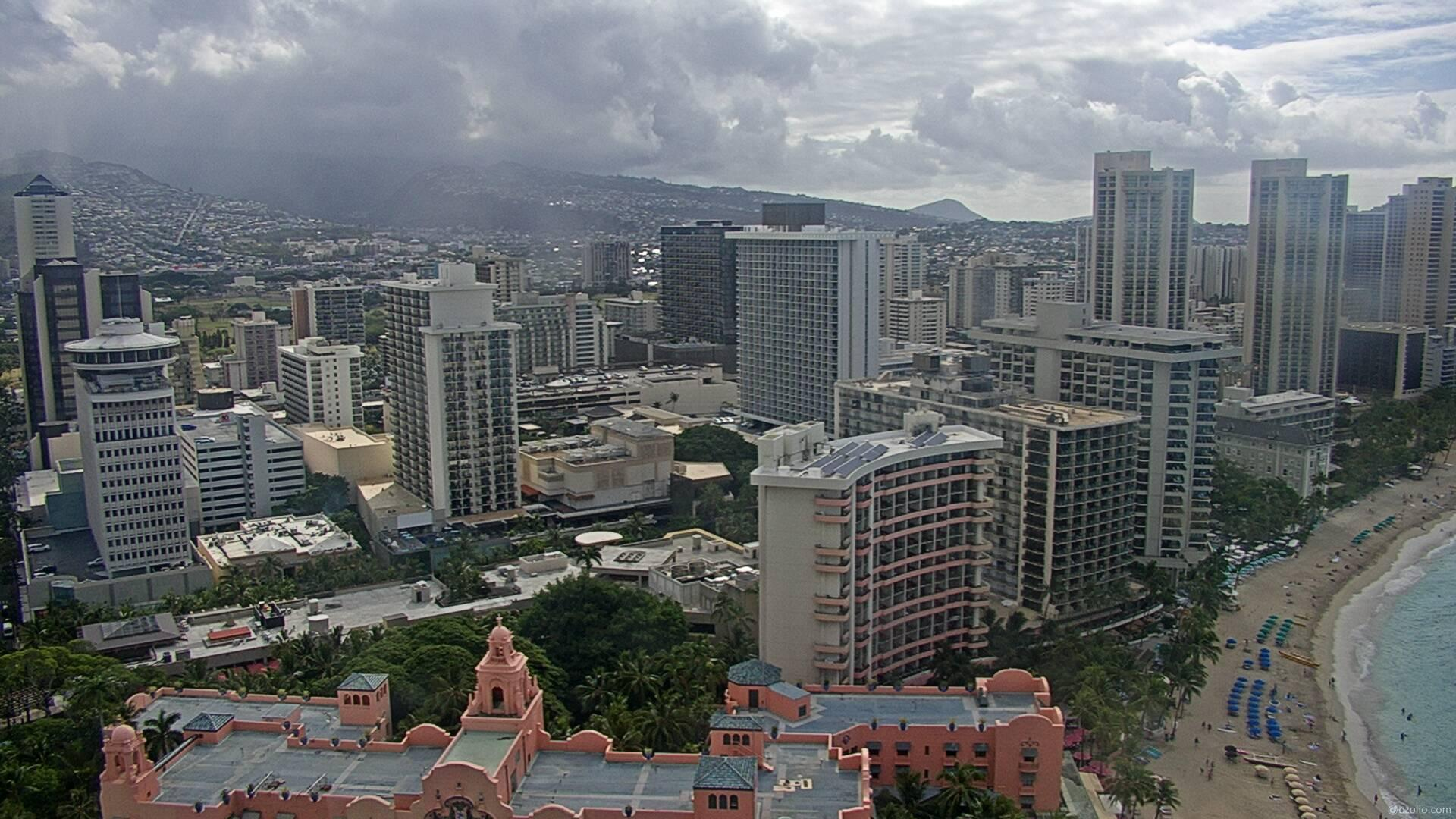 Webcam Honolulu: Waikiki (LiveHD°)