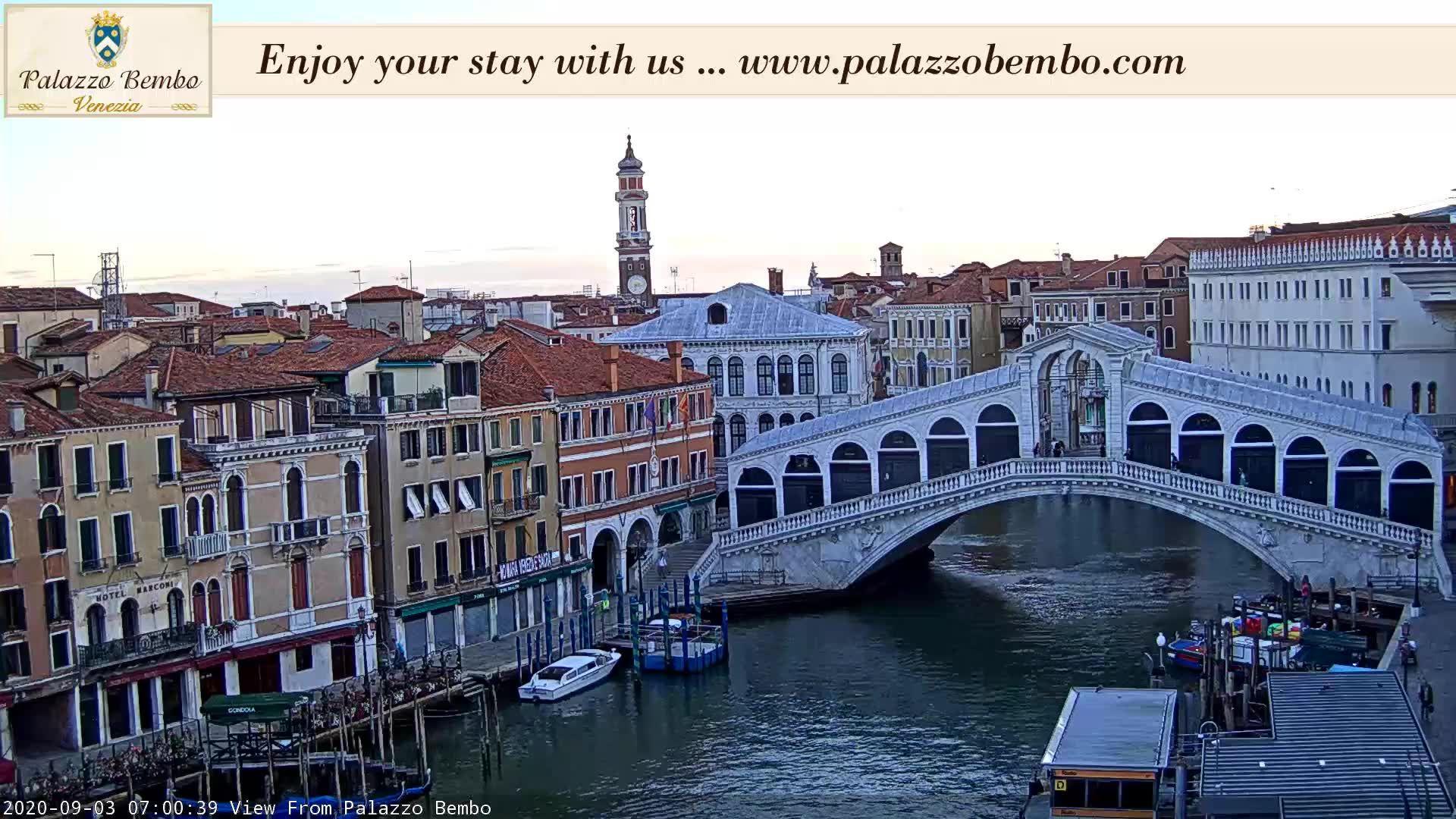 Webcam Venice: Rialto Bridge - Wetterdienst.de