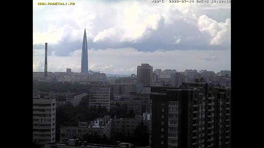 Webkamera St.-Petersburg: Pionerskaya