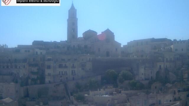 Webcam Matera: Sasso Barisano