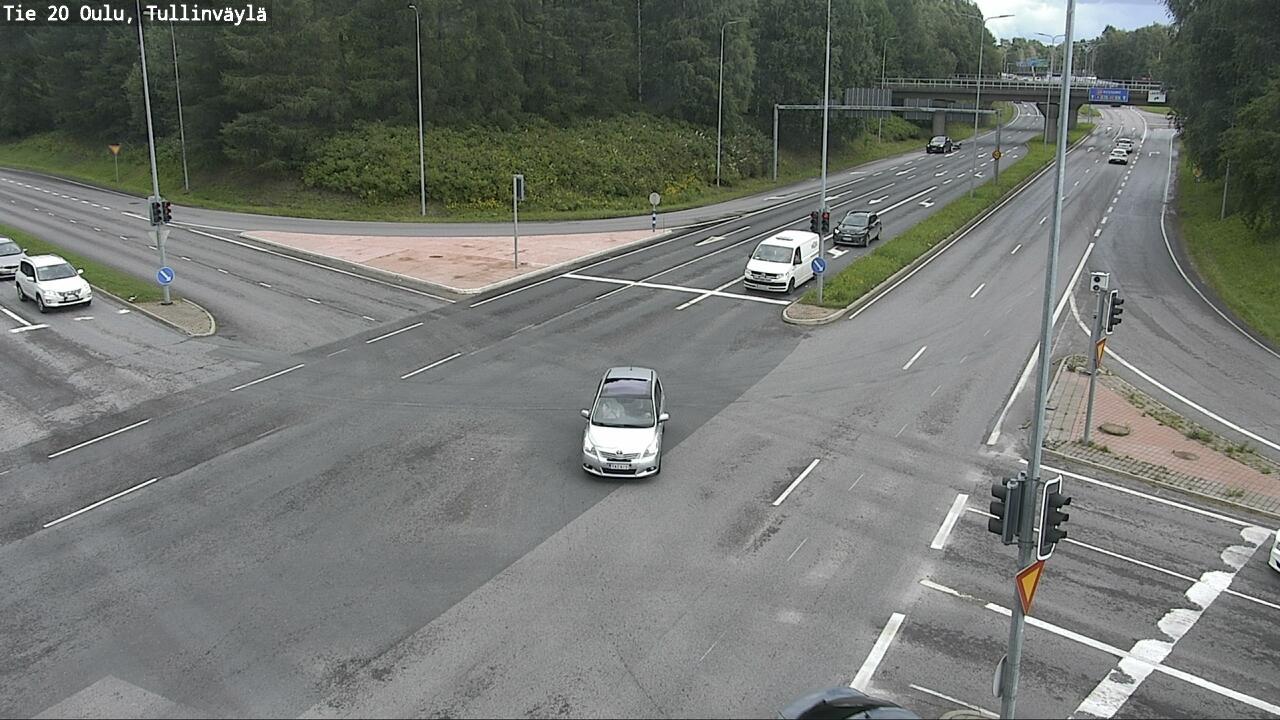 Webcam Oulu: Tie 20 − Tullinväylä − Kuusamoon