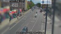 Croydon: A Streatham H Rd/Hopton Rd - Day time