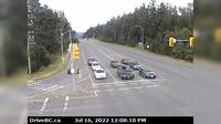 Courtenay › West: Intersection of Ryan Rd and Lerwick Rd in - looking west - Current