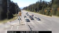 Courtenay › West: Intersection of Ryan Rd and Lerwick Rd in - looking west - Day time