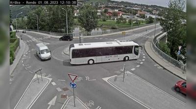 Vue webcam de jour à partir de Krško: G1 5 − Drnovo