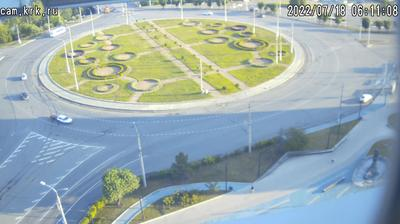 Красноярск - Красноярский край, Россия: Красноярск. Коммунальный мост